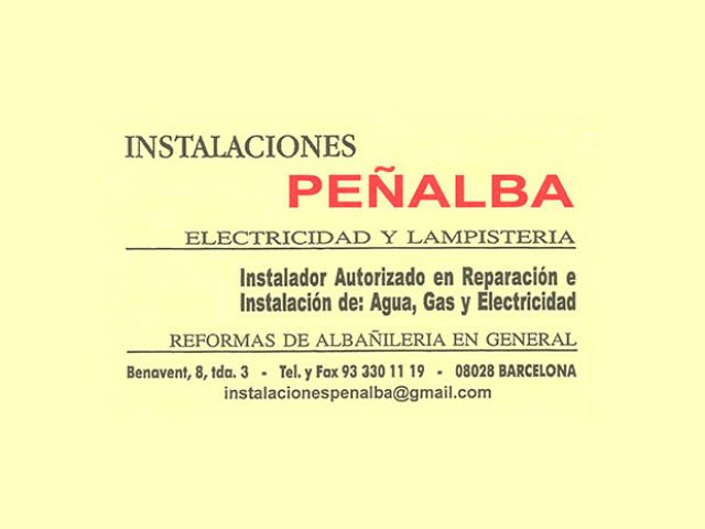 Instalaciones Peñalba