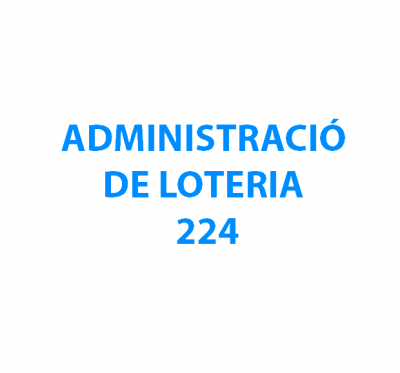 Administració Loteria 224