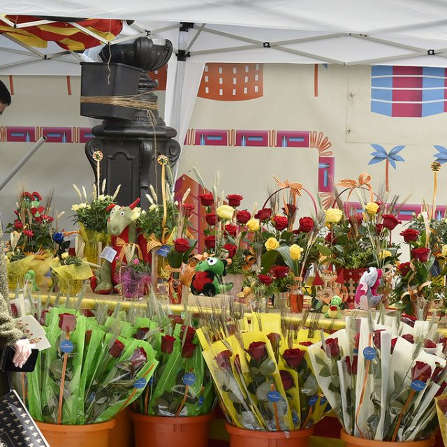 Sol·licita la teva parada de llibres i roses per aquest Sant Jordi 2020, inscripcions obertes.