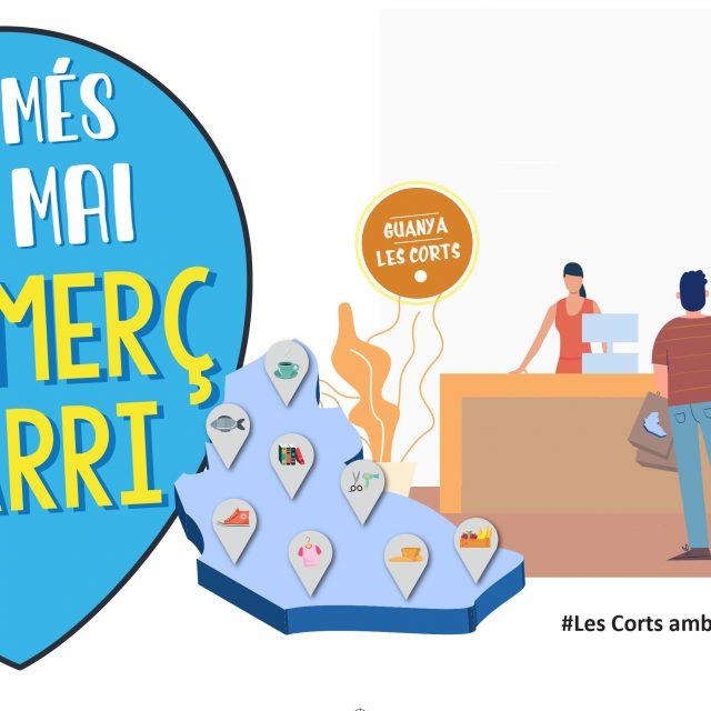 Ara més que mai, amb el comerç de barri guanya Les Corts !!